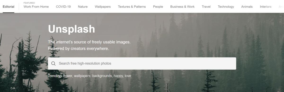 ブログ画像に使えるフリー素材サイト